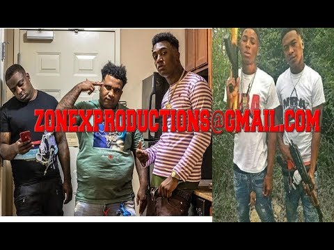 "Baton Rouge Rapper Fredo Bang & Cleezy of TBG DROP location for NBA Youngboy""got 10 min to k1ll us"""