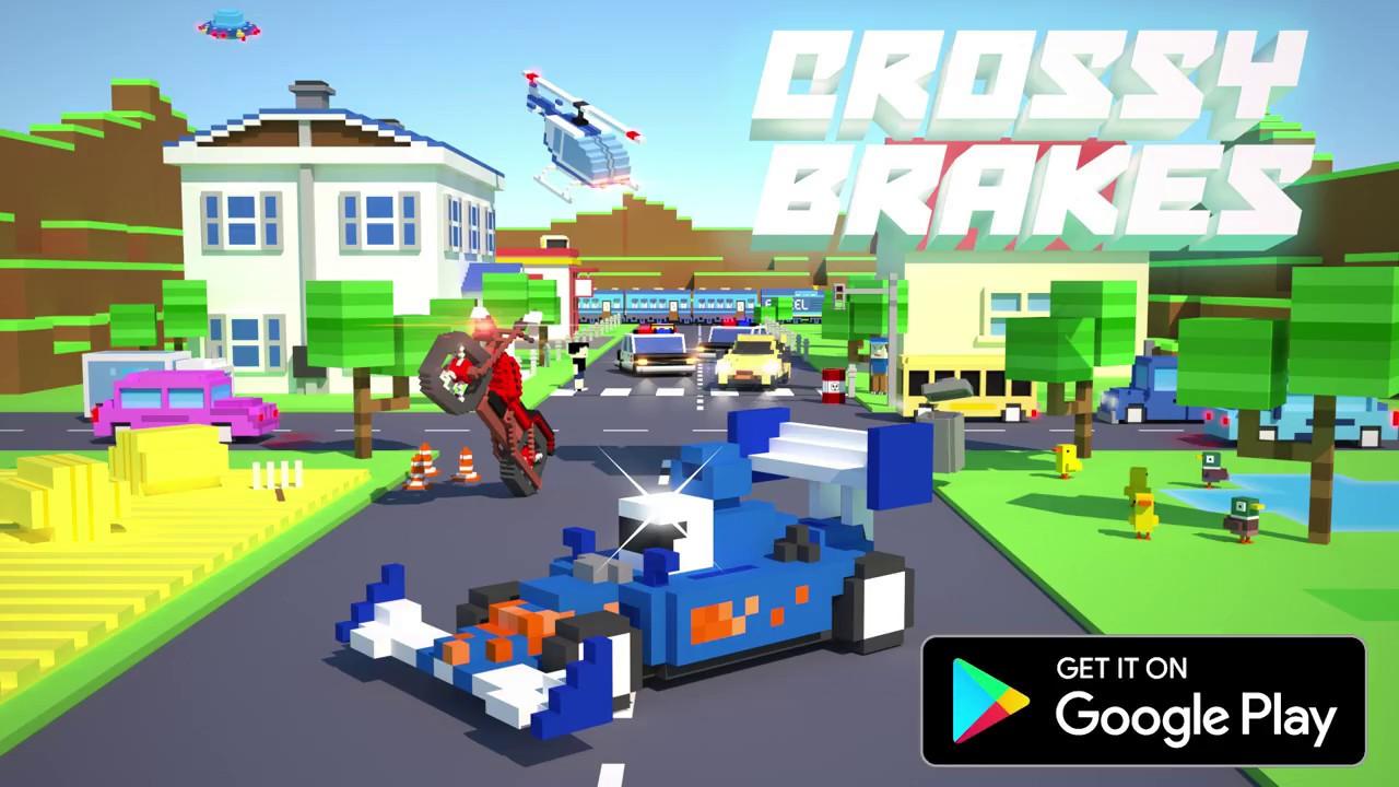 Crossy Brakes : пиксельный мульт гонщик