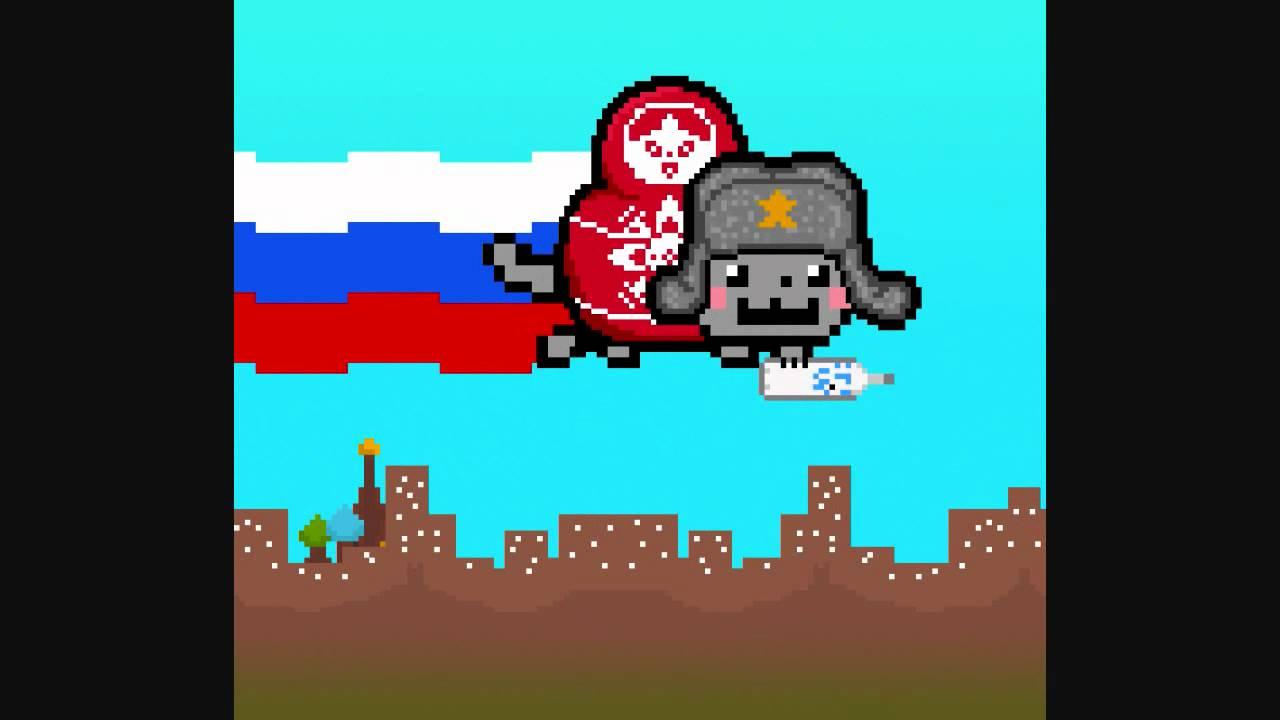 Russian Nyan Cat [Original] - YouTube
