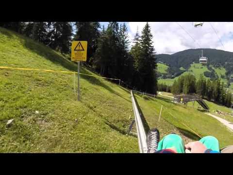 Sommerrodelbahn Innichen Haunold Südtirol 2014 - Alpine Roller Coaster