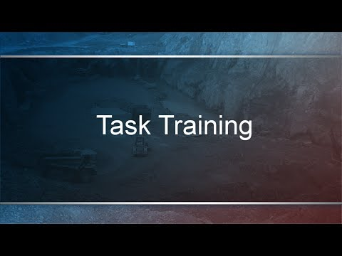 MSHA Task Training - Mine Safety Center