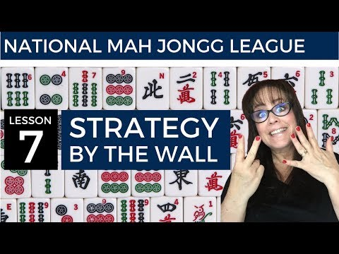 National Mah Jongg League Lesson 7 Strategy by Wall