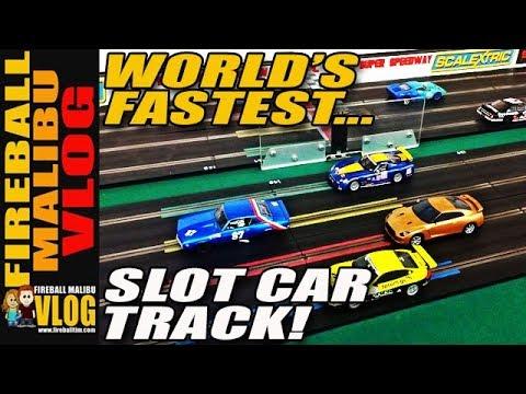 World's Fastest SLOT CAR TRACK – FMV268