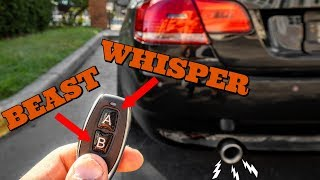 I Modified My BMW 335i's Exhaust To Sound EXTREMELY LOUD On Demand! - EP 16