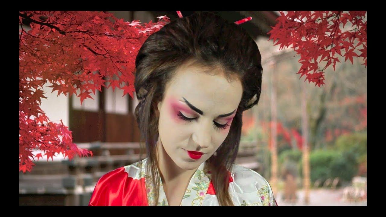 Bien connu GEISHA per un giorno - YouTube FU43