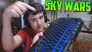 ¡¡PULSA LA TECLA!! - Sky Wars Minecraft