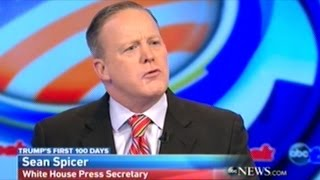 """Sean Spicer """"I Just Said It TWICE! The OBAMA Administration Put These First And Foremost!"""" thumbnail"""