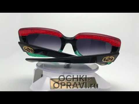 Обзор очков Gucci GG 0083 001 - YouTube b02b84956c64