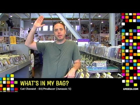 Cut Chemist - What's In My Bag?