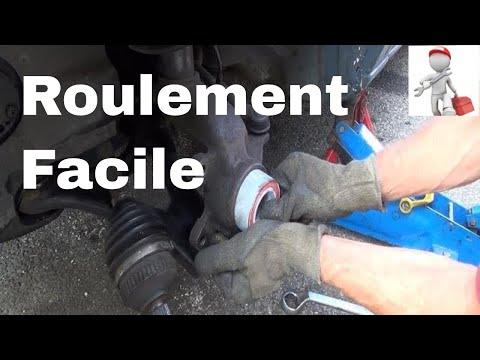 Changer un roulement de roue sur place, sans démonter le porte-moyeu