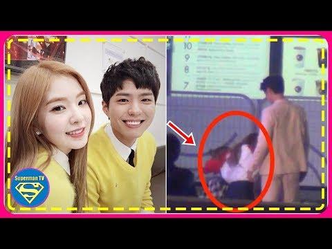 Red Velvet Irene Falls Down Flight Of Stairs, Rescued By Park Bo Gum