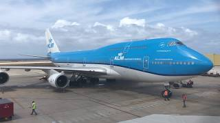 Gambar cover KLM Boeing 747-400 | Departure from Curaçao
