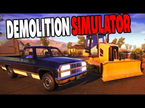 I'M A DEMOLITION EXPERT NOW! AWESOME PHYSICS AND HUGE MACHINERY! - Demolish and Build 2018