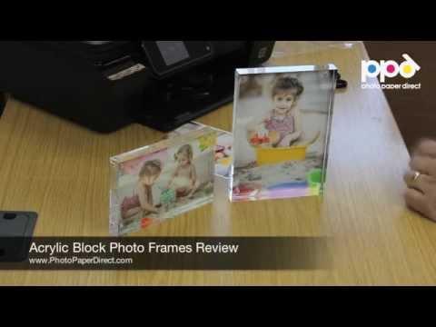 Acrylic Block Photo Frames Review