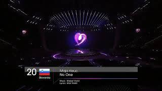 Maja Keuc - No One (Slovenia) Live 2011 Eurovision Song Contest  Final Dress Rehearsal