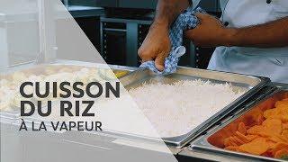 Recette : Cuisson du riz à la vapeur avec le RATIONAL SelfCookingCenter