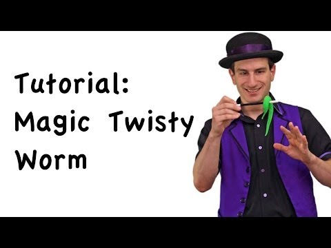 Magic Secrets: The Fun Magic Twisty Worm