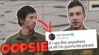 Josh Could go to Jail for Illegally Downloading Music (Twenty One Pilots Crack video)