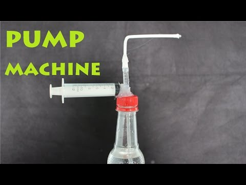 How  To Make A Water Pump Machine   Very Simple