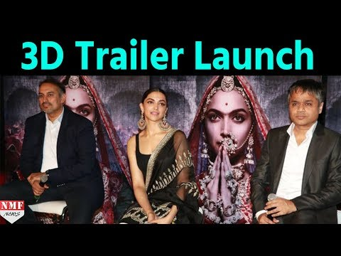 Deepika Padukone At 3D Trailer Launch Of 'PADMAVATI' | Press