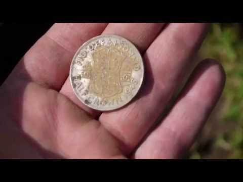PART 6/ XP DEUS/ TWO HALF CROWNS /SILVER SIX PENCE/ 1800 COINS/RELICS....