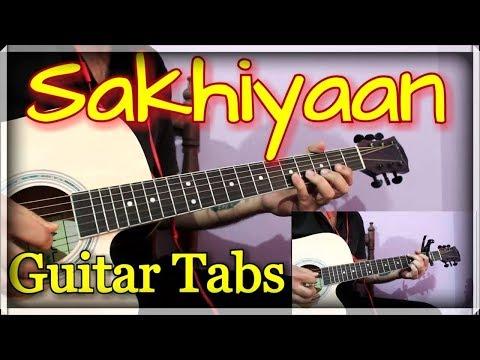 Sakhiyaan - Maninder Buttar   Guitar Cover & Lesson   Sakhiyaan Guitar Tabs & Chords