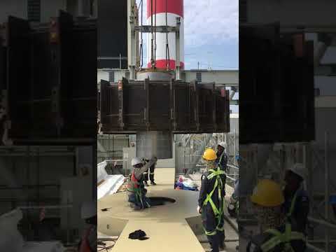 Lifting Rotor 7 tons of Gas gas heater system