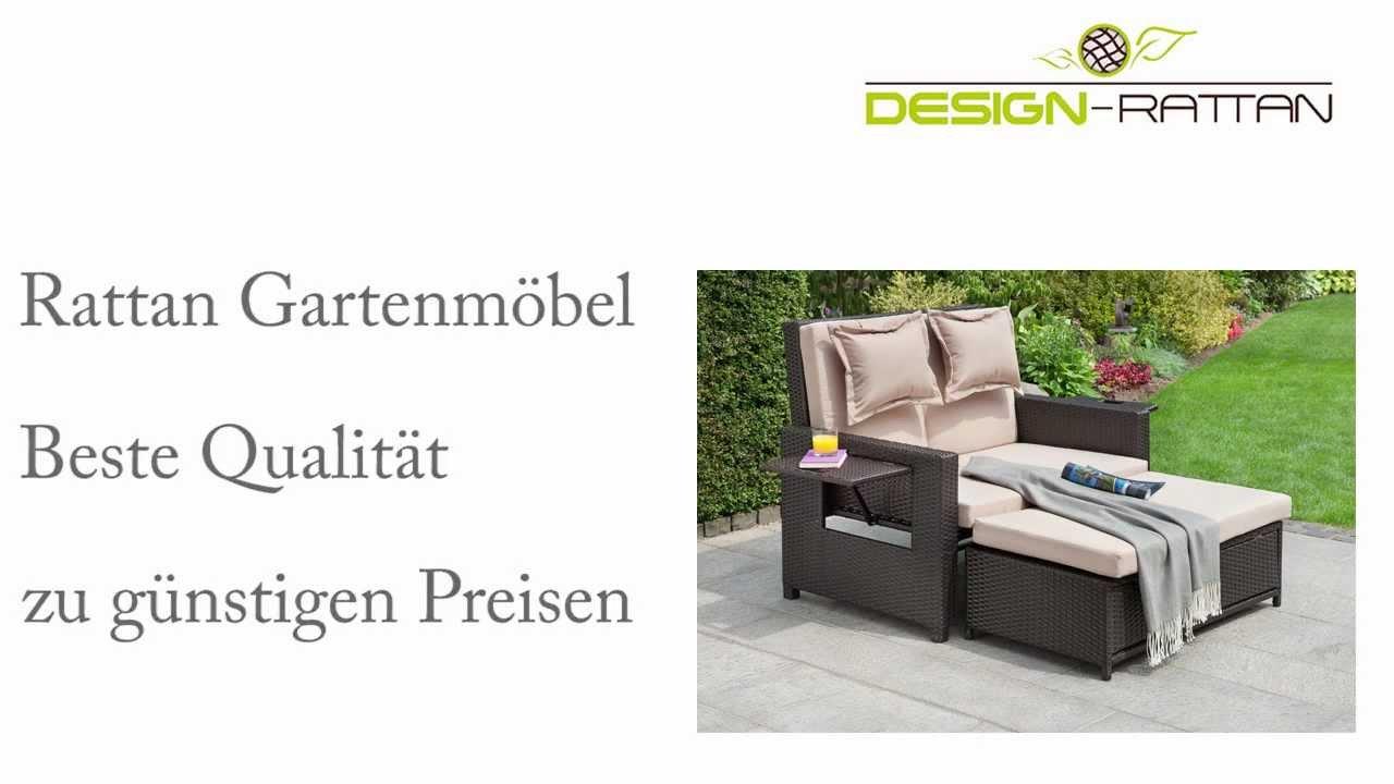 Design-Rattan: Hotel - Polyrattan Gartenmöbel für Ihr Zuhause - YouTube