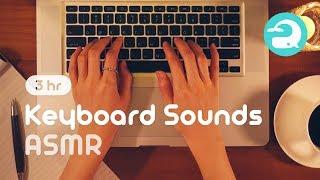 ASMR - Keyboard Typing Sound / Relaxing, Studying (No Talking) #029