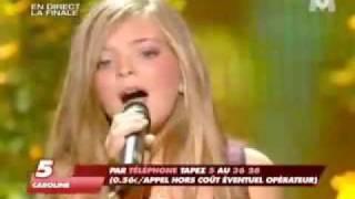 Incroyable Talent 2008 Caroline Costa 30 11 08 sur M6 interprète I Will Always Love You