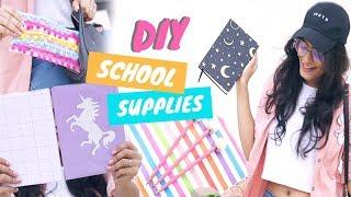 7 Easy and Affordable DIY Back To School Supplies 2018 | Dhwani Bhatt