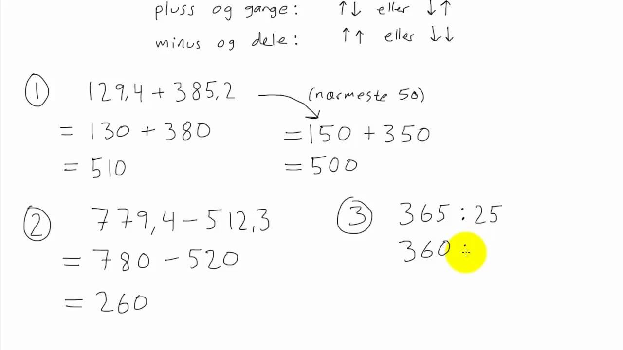 Matematikk 1P - 020 - Overslag 2
