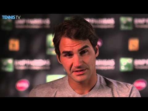 Indian Wells 2015 Wednesday Interview Federer