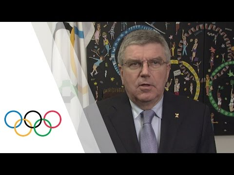 "IOC President Thomas Bach reacts to ""Independent Person"" Report"