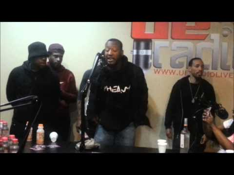 SpazHEAVY - Hottest In The City Cypher at UE Radio