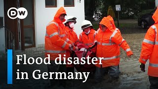 Disastrous floods in western Germany - The Eifel disaster
