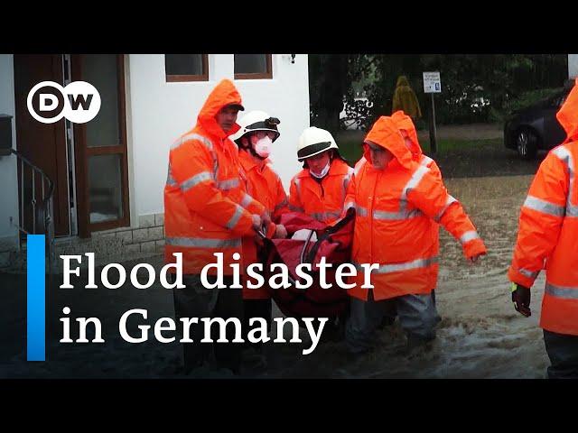 Disastrous floods in western Germany - The Eifel disaster | DW Documentary