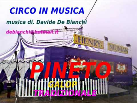 CIRCO IN MUSICA PINETO musica di. Davide De Bianchi. debianchi@hotmail.it