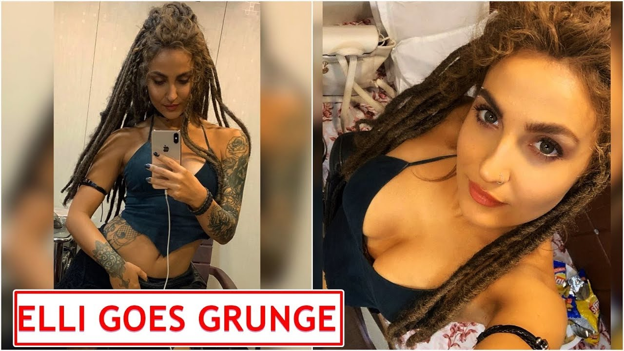 Elli Avrram Is Yet To Get Over Her Tatted Up Grunge Look From Malang And So Are Her Fans Youtube