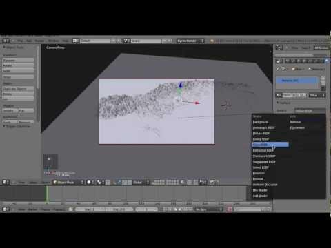 Flooding Scandinavia using Blender + Heightmap