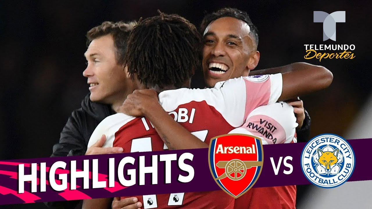 Arsenal Vs Leicester City 3 1 Goals Highlights