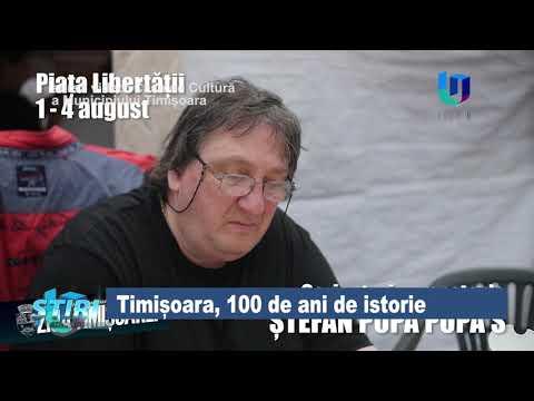 TeleU: Timișoara, 100 de ani de istorie