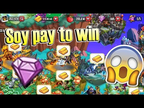 SOY PAY TO WIN !! Monster Legends