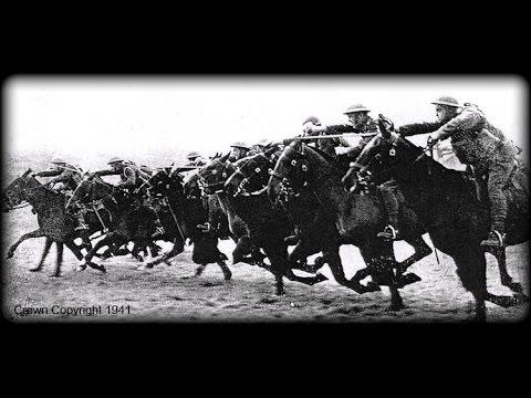 Using the point of sword & lance on horseback & the 1908 pattern sword
