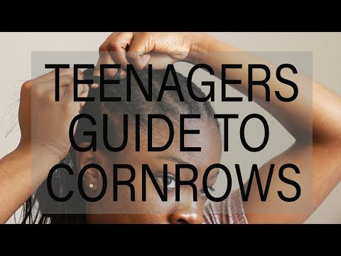 EXTREMELY DETAILED Step by Step How to Cornrow Tutorial for Beginners
