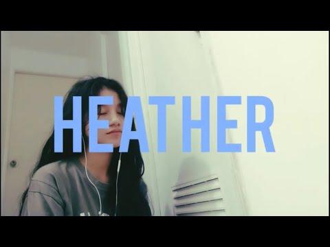 Conan Gray – heather (cover)