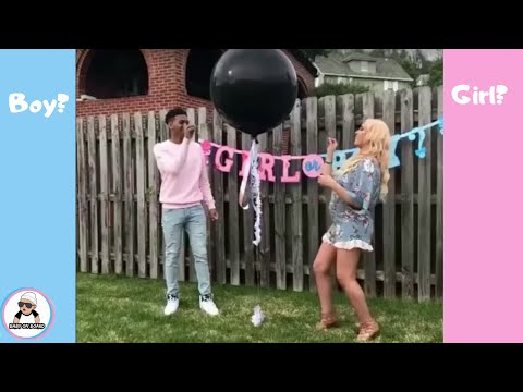 BEST OF 2017 BABY GENDER REVEAL COMPILATION / UNIQUE SHOWER IDEAS { reupload}