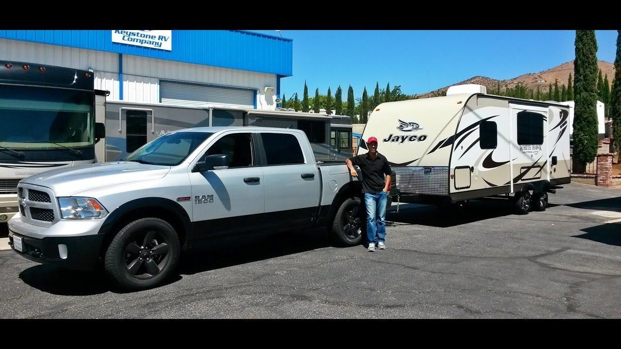 Dodge Ram 1500 Ecodiesel >> Ram 1500 Ecodiesel 4x4 Towing 5,000 lbs MPG!!! - YouTube