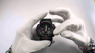 Калібрування стрілець годинник Casio G-Shock з комбінованою стрілково-електронною індикацією часу