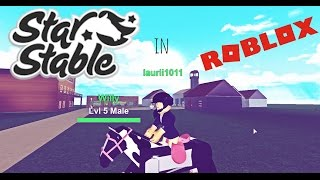 STAR STABLE IN ROBLOX (PARODY)- MADISON HIGHCAMP